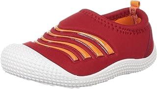 BUBBLEGUMMERS Boy's Bubblesoftytoe Red Indian Shoes-13 (3595637)