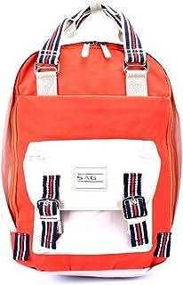 SAGA Fashion Backpack for Unisex, Orange