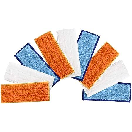 Coussinets secs lavables couleur : 3 tampons humides + 3 tampons secs NLRHH Accessoires de rechange pour nettoyeur humide iRobot Braava Jet M6 Kit de pi/èces de rechange