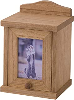 KIRIGEN ペット 仏壇 仏具 かわいい メモリアル用品 木製 ペット骨壷収納 ペット供養 ナチュラル