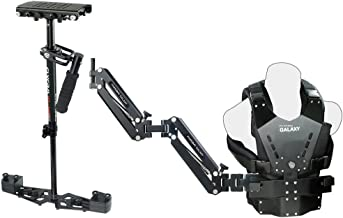 FLYCAM HD-3000 Stabilizer with Galaxy Dual Arm & Body Vest Steadycam System for Video DSLR Cameras | Accessories (GLXY-AV-...