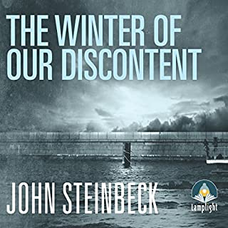 The Winter of our Discontent                   By:                                                                                                                                 John Steinbeck                               Narrated by:                                                                                                                                 Jeff Harding                      Length: 10 hrs and 20 mins     29 ratings     Overall 4.7