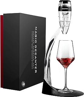 AWANFI Aérateur à Vin Décanteur à Vin avec Support Bras Coffret Aérateur de Vin
