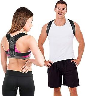 LIFEWAY Posture Corrector for Men & Women - Upper Back Brace for Spine & Clavicle Support - Relives Pain in Neck & Shoulde...