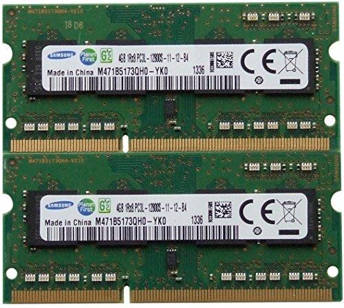 Samsung Arbeitsspeicher 8GB Kit (2x 4GB) DDR3PC3–12800,1600MHz für 2012Apple MacBook Pro, iMac \'s Und 2011/2012Mac Mini \'s