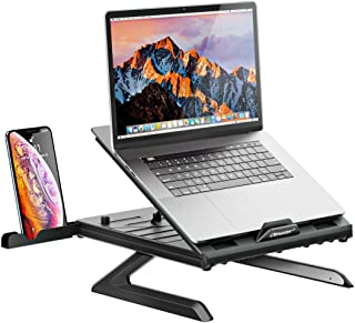 OImaster Laptop Stand Adjustable Computer Stand Patented,Multi-Angle Stand Portable Foldable Laptop Riser Phone Stand Note...
