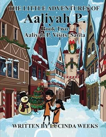 Aaliyah P. Visits Santa