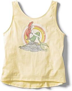 Roxy Girls Sun Beam Ariel - Tank Top - Girls 8-16 - 12 - Yellow Sunlight 12/L