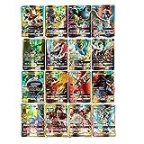 zhybac Pokemon Card, Pokemon Flash Card, Pokemon Card, Carte Enfants,60 Cartes Full GX, 60 Cartes Full Mega (60PCS GX)