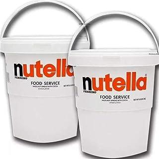 Nutella Gigante 3 Kg Creme De Avelã Balde Com Alça Kit com 2 Unidades