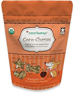 CocoTherapy Coco-Charms Training Treats for Dogs, 5 oz