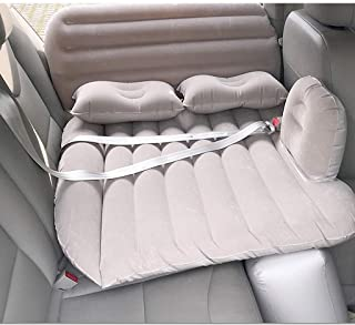 Bil luftmadrass bil uppblåsbar säng bil barnmadrass SUV bil baksäte sovplatta inuti bilen bak rad universell luftdyna rese...