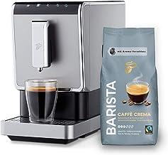 Tchibo Kaffee Vollautomat Esperto Caffè 1.1 (19 bar, 1470 Watt), Edelstahl Silber (inkl...