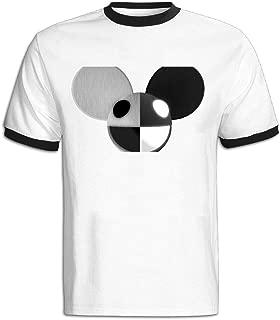 Men's 2016 Bonnaroo Music Deadmau5 Soft T-shirt Red