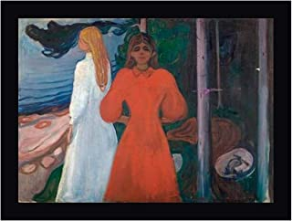Red and White, 1899-1900 by Edvard Munch 21