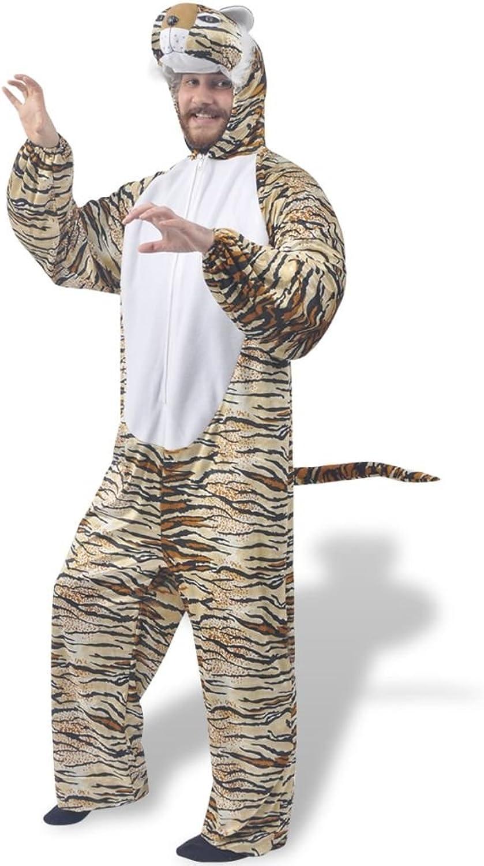 Karnevalskostüm Tiger Polyester  100% und Größe  M-L B07CG84X52 Ausgezeichnet     | Wunderbar