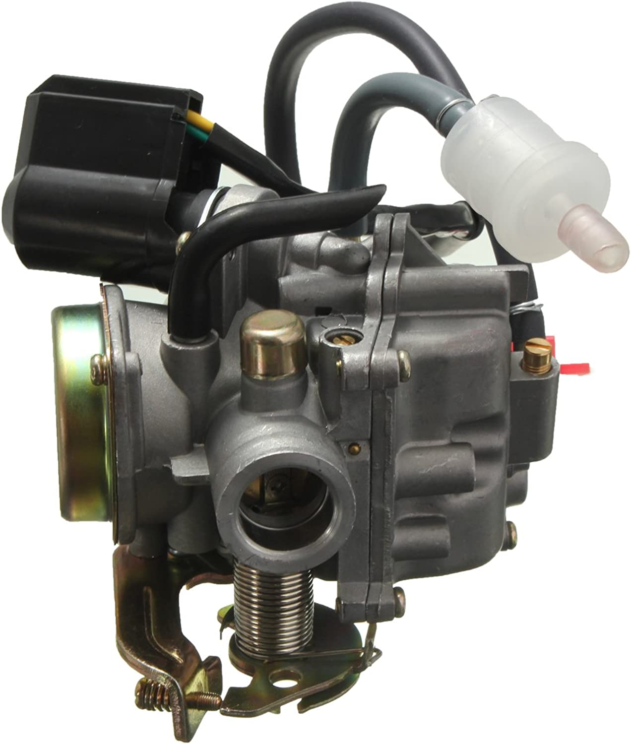 US Warehouse  Motorcycle Carburetor GY6 50cc Scooter Moped for Qingqi QM50QT Vento Baotian