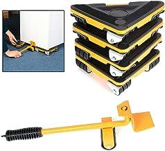 5 STKS Meubels Lifter Kit Meubels Sliders Zware Meubels Mover Rolling Tool Set Bewegende Roller Kit 360 Graden Draaibare P...