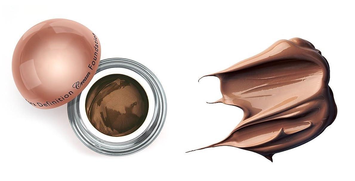 回想合体実験LA Splash (無料なめらかな顔のシートマスク付き)LA-スプラッシュウルトラ定義されたクリームファンデーション 1オンス チョコレート/ 1オンス(20212)