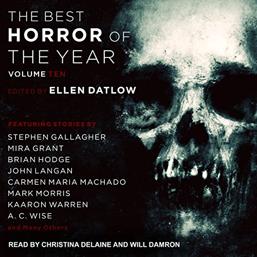 Couverture de Best Horror of the Year, Volume 10