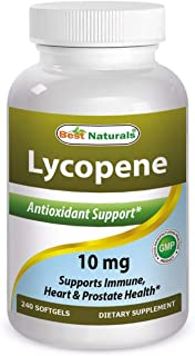Best Naturals Lycopene, 10mg-- 120 Softgels