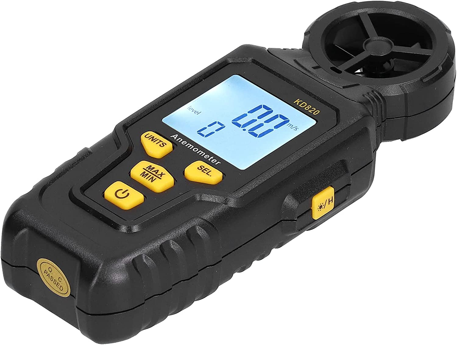 Wind Max 74% OFF Speed Meter Gauge 32℉‑140℉ Handheld Outlet ☆ Free Shipping Anemomet