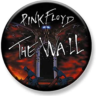 1.25 inch Pinback Button Badge Pink Floyd The Wall March