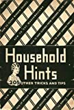 Household Hints: 205 Other Tricks and Tips (English Edition)