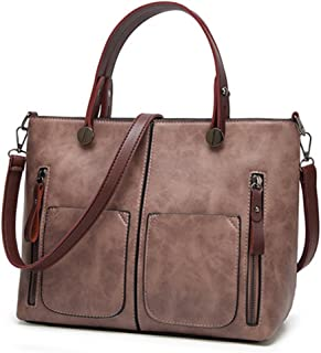 c7d92407723 Vintage PU Shoulder Bag Female Causal Totes For Daily Shopping All-Purpose  Dames Tassen