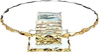 """Godinger Silver Art Harper 9"""" Cake Plate"""