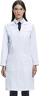 100 cotton women's lab coat