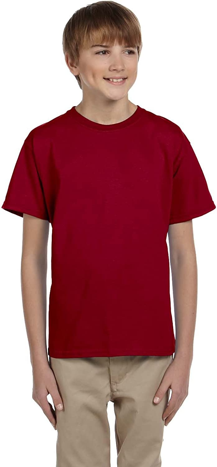 Product of Brand Gildan Youth Ultra Cotton 6 oz T-Shirt - Cardinal RED - XS - (Instant Savings of 5% & More)