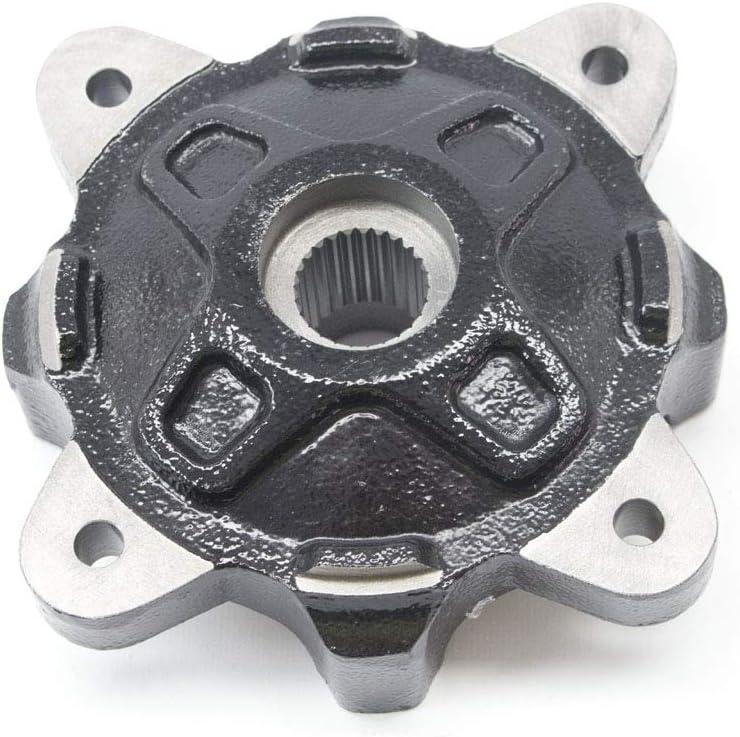Polaris Front Wheel New color Hub Black Genuine Qt OEM 5137127-067 Part Sale