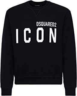 DSQUARED2 Felpa Icon Black White