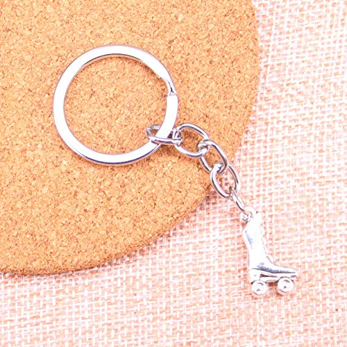 WYNYX Rollschuhe Schuhe Charm Anhänger Schlüsselbund Schlüsselring Kette Zubehör Schmuckherstellung für Geschenke