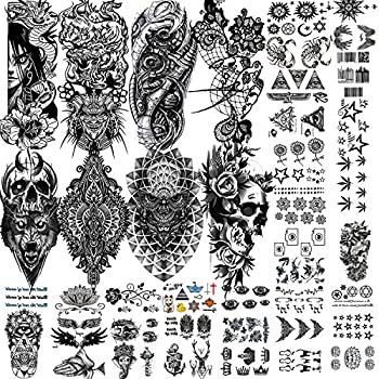 Best wolf chest tattoos Reviews