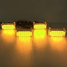 VSLED 4-22 LED Amber LED Black Aluminium Case Emergency Recovery LightBar Wrecker Flashing LightBar Beacon Strobe Amber Light Bar