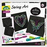 Lena 42650 - Bastelset String Art Schmetterling und...
