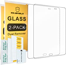 [2-Pack]-Mr.Shield for Samsung Galaxy Tab A 9.7 Inch [Tempered Glass] Screen Protector [0.3mm Ultra Thin 9H Hardness 2.5D Round Edge] with Lifetime Replacement