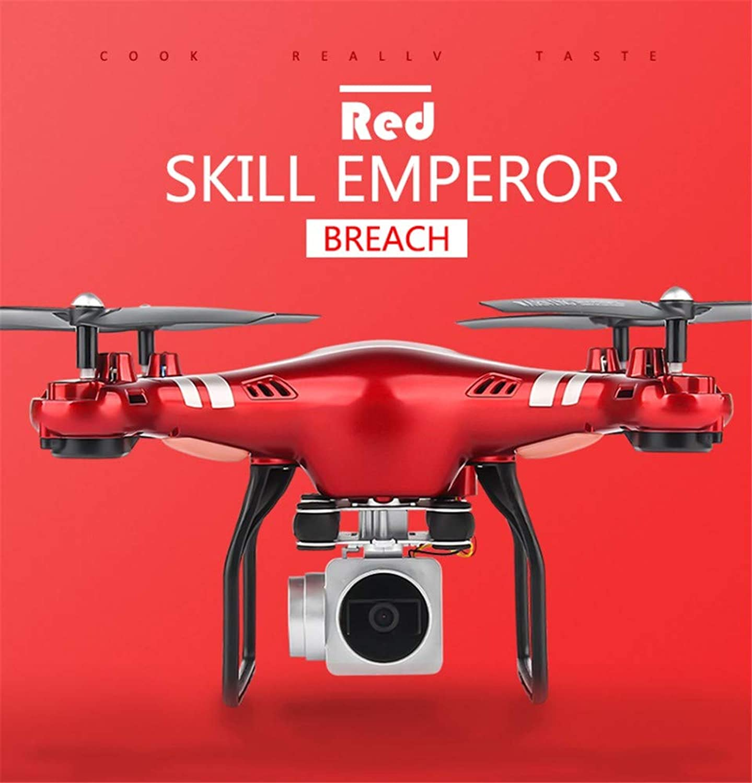 GCM-T Drohne Led Lichtsteuerung 360 ° Stuntrolle Sechs-Achsen-Gyroskop EIN-Tasten-Rückgabe Headless-Modus USB-Aufladung rot Hd5H
