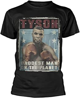 Mike Tyson Boxing Baddest Man On The Planet Official Tee T-Shirt Mens Unisex