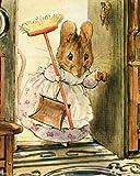 Wall Decor Beatrix Potter Tale of Two Bad Mice Kids Room Art Print Poster (8x10)