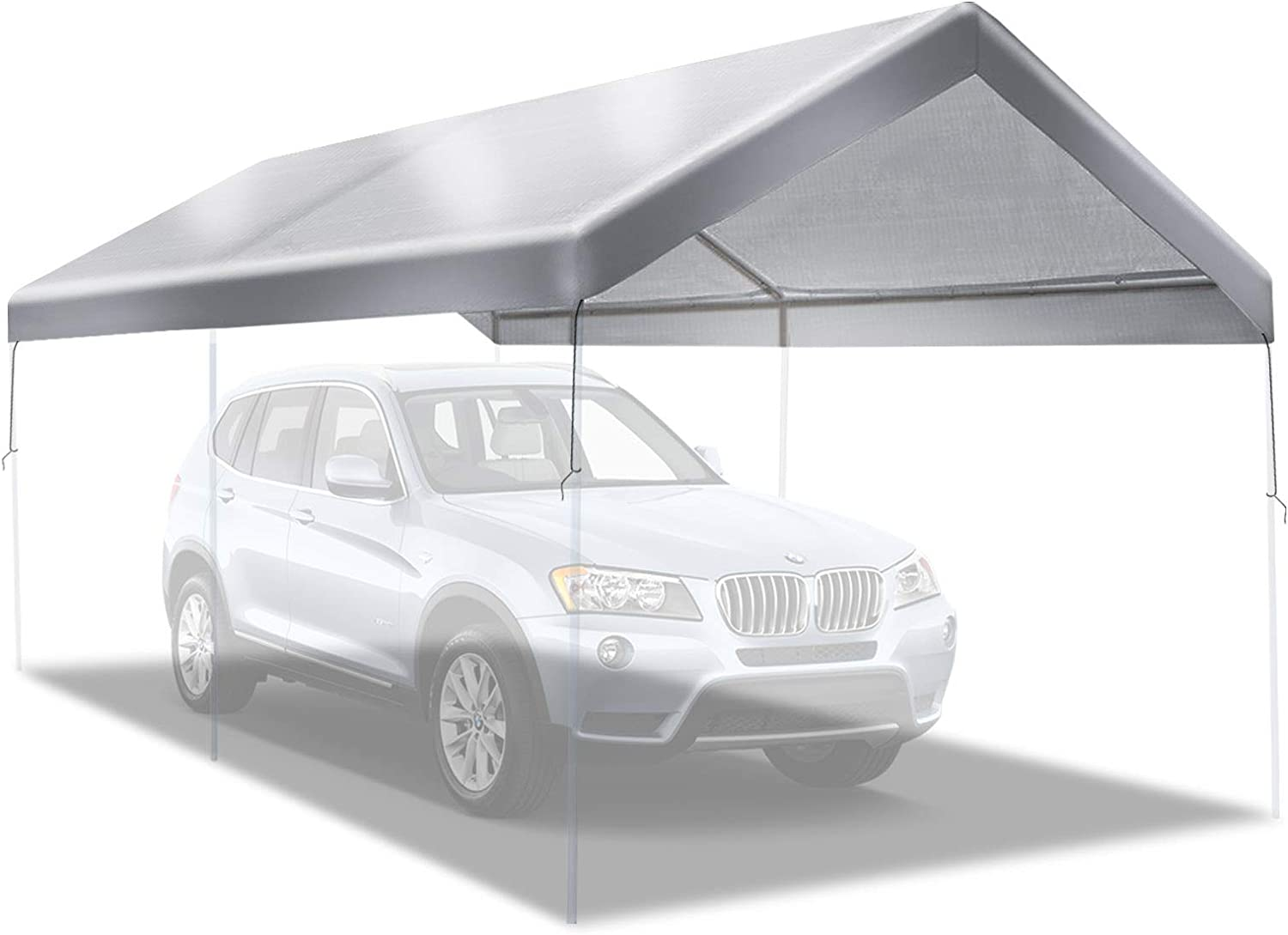 BenefitUSA Canopy ONLY 10'x20' Replacement 5 ☆ National uniform free shipping popular Outdoo Carport
