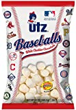 Utz Baseballs White Cheddar Cheese Balls- 12 oz Bag (4 Bags)