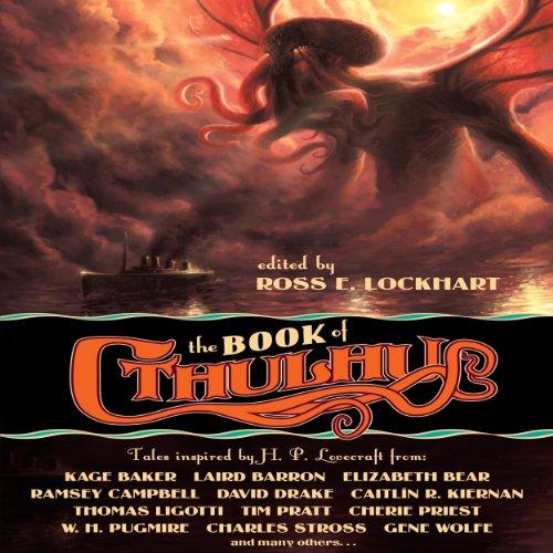 The Book of Cthulhu audiobook cover art