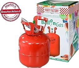 Falkenheyn Gratis Bügelpatch zufällige Auswahl mit PartyFactory Heliumgasflasche Heliumgas Helium Gasflasche Balloon Gas Ballongas Einweg für ca. 20 Ballons