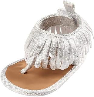 Auxma Sandales à la Mode Tassel pour bébés Filles,Chaussures bébé d'été pour 0-18 Mois