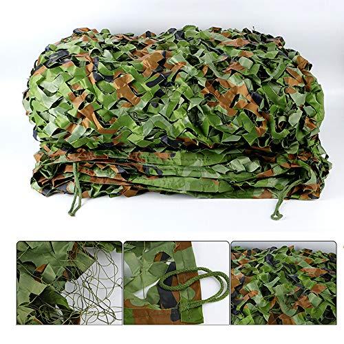Camouflage net Camo Net,Jungle Shading Net,Outdoor Zonnebrandnet,Jacht, Militair, Schieten, Decoratie, Rolluiken 4m*8m