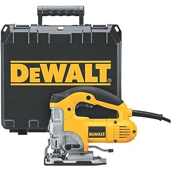 DEWALT DW331K 701Watt Variable Speed Pendulum Jigsaw (Yellow)