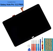 E-yiiviil Replacement LCD Compatible with Samsung Galaxy Note Pro 12.2 P900 P901 P905 Display Assembly Touch Screen (Black) + Tools